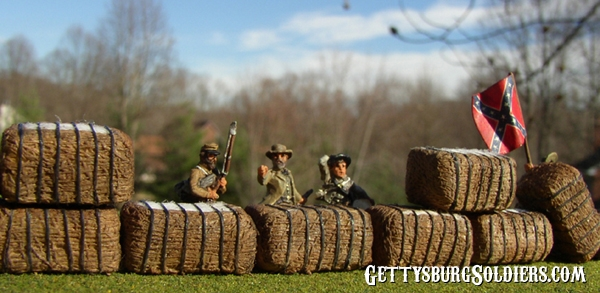 Bales in 15mm scale