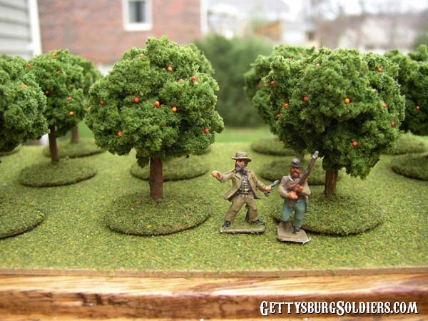 Trees with 15mm figures