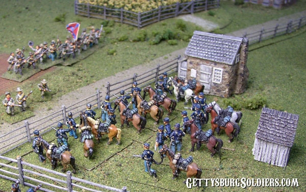 Union Dismounted Cavalry