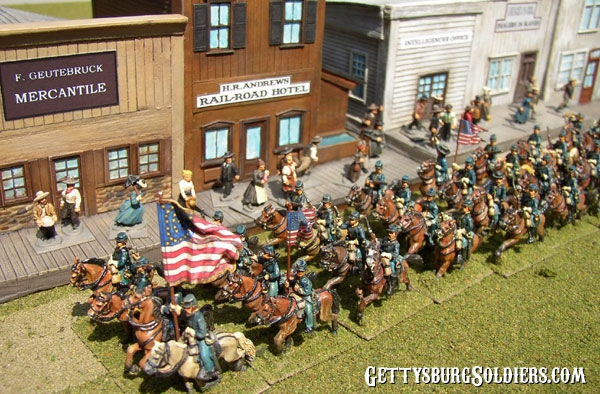 Grierson's Cavalry ride into Newton Station