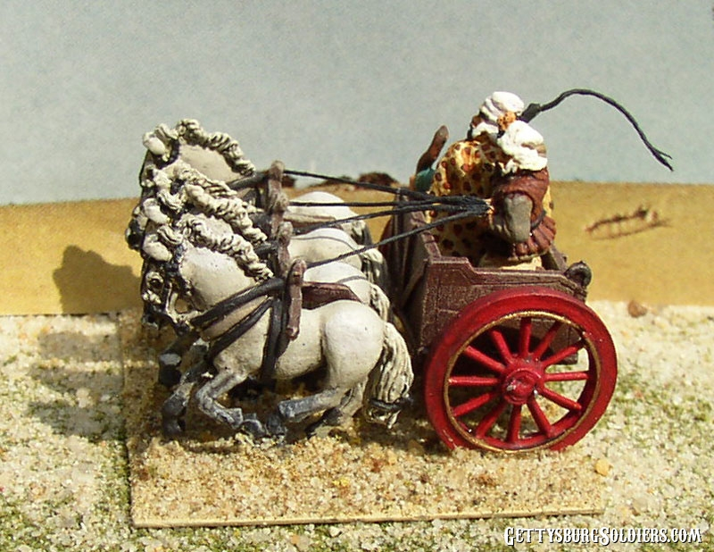 Chariot General and Driver