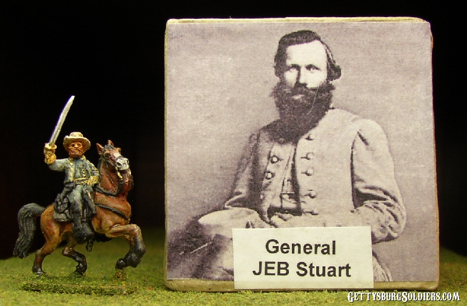 Jeb Stuart with sabre